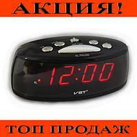 Электронные настольные часы с красной подсветкой VST 773-1!Хит цена