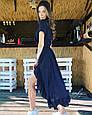 Длинное платье рюши на запах, фото 6