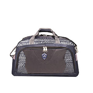 Дорожная сумка Kudouer (нейлон)  50х33х23 цвет синий  кс1215Всин, фото 2