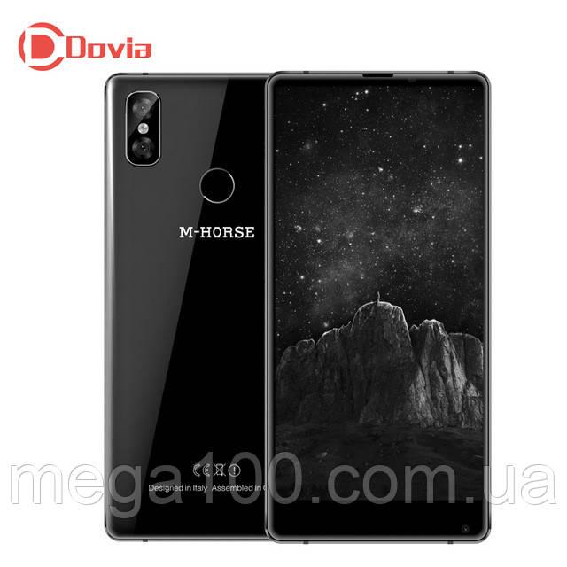 Смартфон M-Horse Pure 2 черный (экран 5,99 дюймов; памяти 4/64, батарея емкость 3800 мАч!)