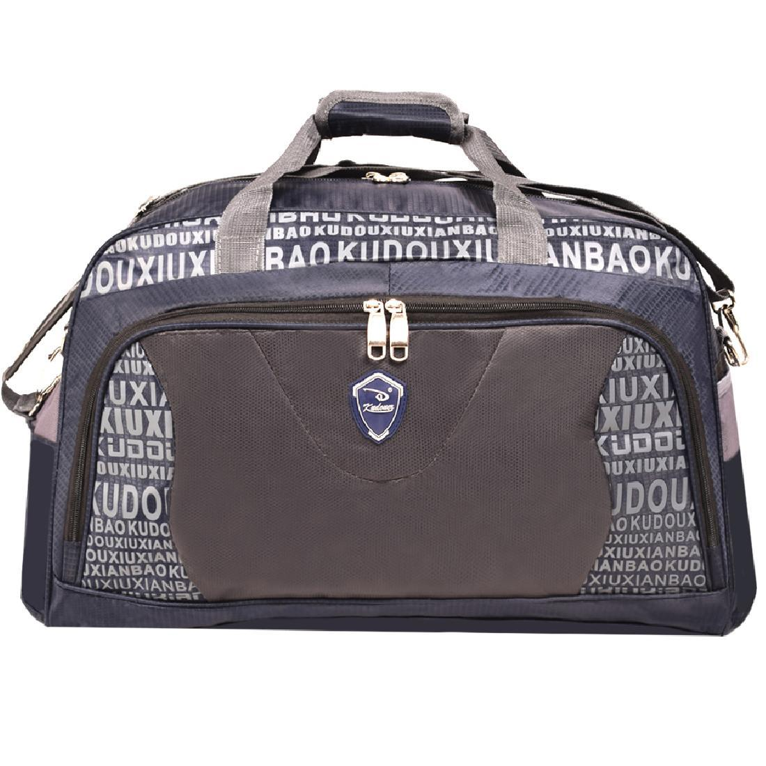 Дорожная сумка Kudouer (нейлон)  52х35х27 цвет синий  кс1215Ссин