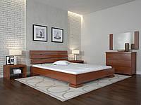Кровать из массива Бука Премьер Амбор