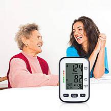 Монитор артериального давления и пульса с LCD экраном, фото 3