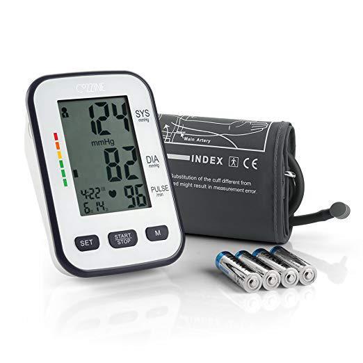 Монитор артериального давления и пульса с LCD экраном