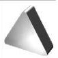 Пластина TNGN - 160408 Т5К10(YT5) трехгранная (01131) гладкая без отверстия