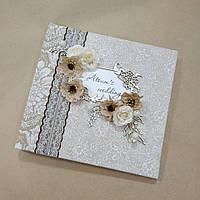Альбом свадебный ручной работы