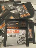 """Коропові гачки ,,Orange carp"""" #8, фото 4"""