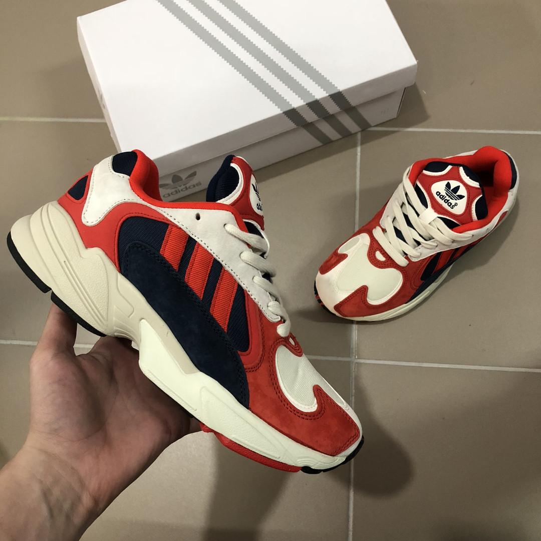 Adidas Yung Red White Navy (реплика)
