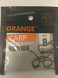 """Коропові гачки ,,Orange carp"""" #8, фото 3"""