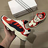 Adidas Yung Red White Navy (реплика), фото 4
