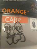 """Коропові гачки ,,Orange carp"""" #8, фото 2"""