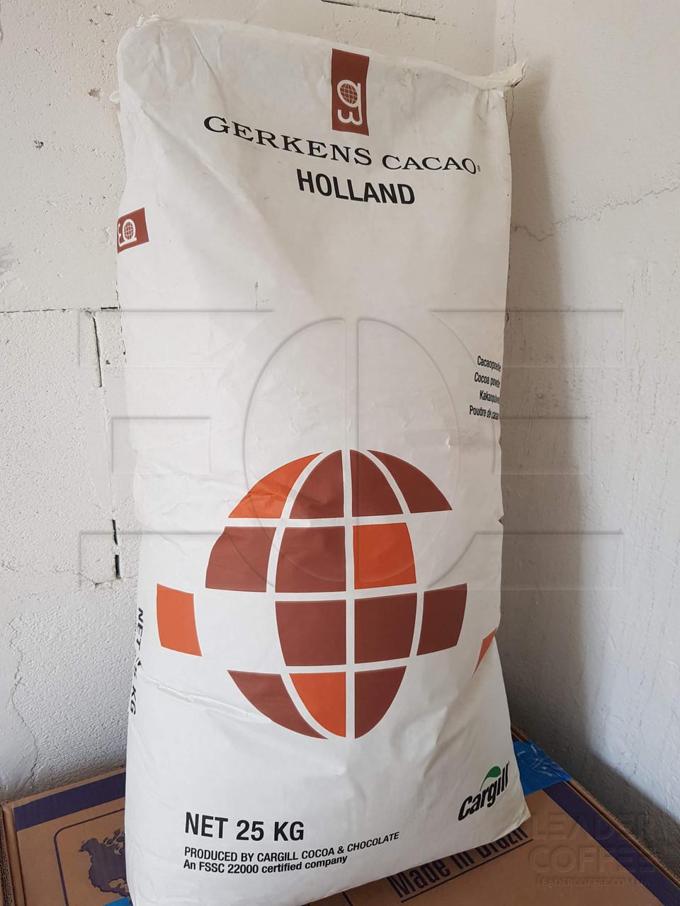 """Какао порошок алкализированный ТМ""""GERKENS CACAO HOLLAND"""", Голландия, мешок 25кг"""