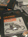 """Коропові гачки,,Orange carp"""" #6, фото 4"""