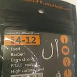 """Коропові гачки,,Orange carp"""" #6, фото 3"""