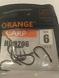 """Коропові гачки,,Orange carp"""" #6, фото 2"""