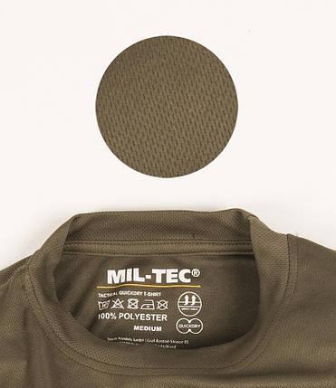 Футболка быстросохнущая MilTec Olive 11081001, фото 2