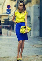 С чем сочетается жёлтый в одежде?