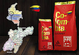 Burdet Colombia gourmet, 250 г 100% арабика