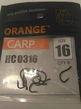 """Рыболовные крючки ,,Orange carp"""" #16"""