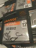 """Гачки для риболовлі ,,Orange carp"""" #12, фото 5"""