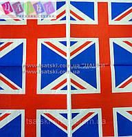 "Салфетка декупажная 33Х33 см 12 ""Британский флаг"""