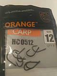 """Гачки для риболовлі ,,Orange carp"""" #12, фото 4"""