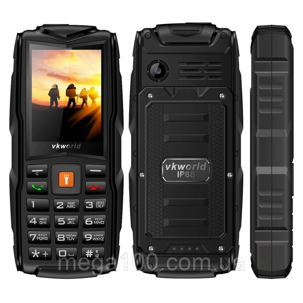 Телефон мобильный VKworld New V3 черный
