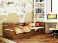 Деревянная буковая кровать Нота с выдвижными ящиками для белья, производитель Эстелла, магазин МК