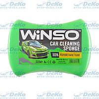 Губка для мытья авто Winso с мелкими порами 200х140х60 мм Зеленая (151300)