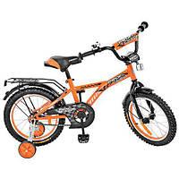 """Велосипед детский 16"""" Profi G1635 Оранжевый"""