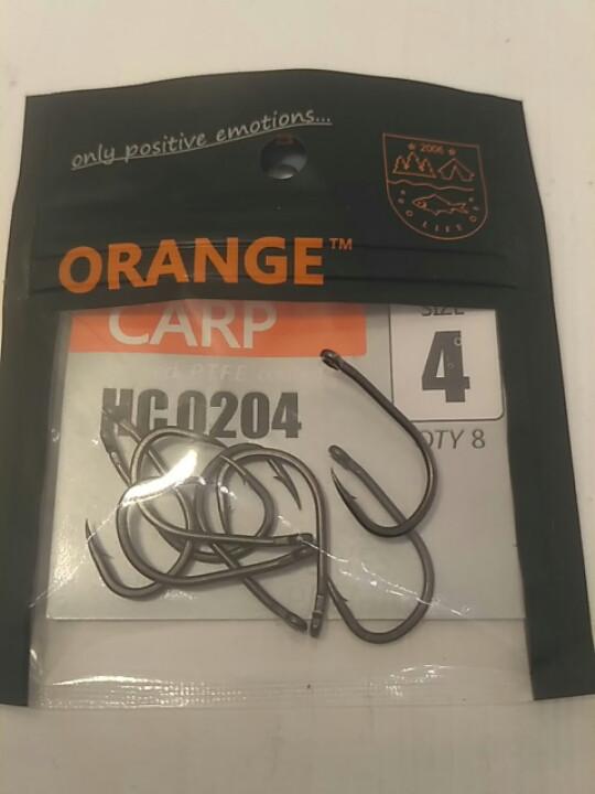 Карповые крючки Orange carp #4