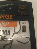 """Гачки для риболовлі ,,Orange carp"""" #8, фото 2"""