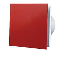 Вентилятор вытяжной Вентс 100 Солид Красный