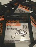 """Рибальські гачки ,,Orange carp"""" #10, фото 4"""