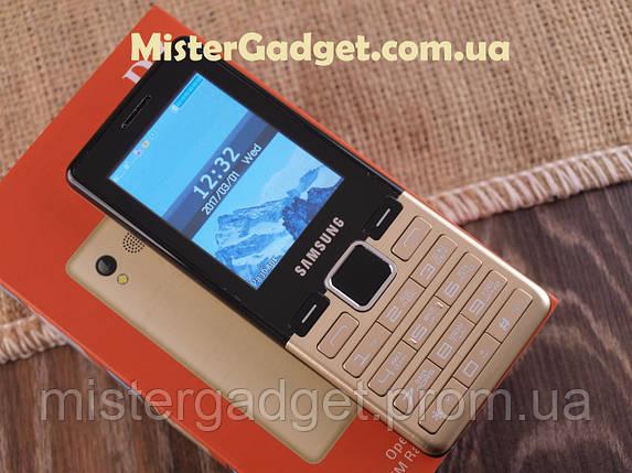 Мобильный телефон Samsung D3 Золото 2.4'' копия 2200мАч, фото 2