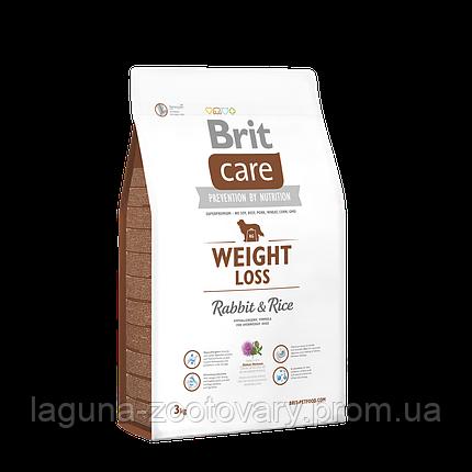 Brit Care Weight Loss Rabbit & Rice 3 kg (д/соб. с лишним весом), фото 2