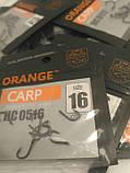 """Рибальські гачки ,,Orange carp"""" #16, фото 3"""