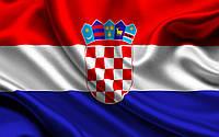 Флаг Хорватии 0.7x1.4 m