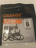 Коропові гачки Orange carp #6, фото 4
