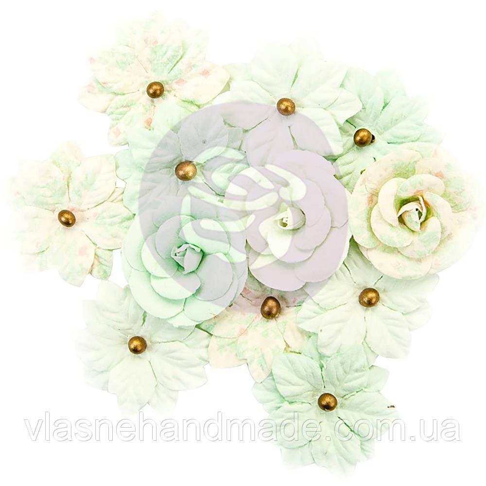 Квіти - Sweet Mint - Santa Baby - Prima Marketing