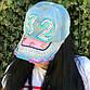 """Стильная женская джинсовая кепка """"32"""", фото 5"""