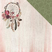 Папір двосторонній  - Free Spirit - Gypsy Rose - Kaisercraft - 30x30