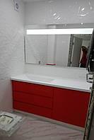Мебель в ванную комнату: тумба, зеркало, пенал