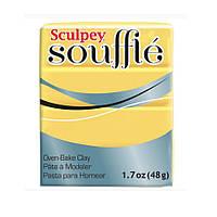 Полимерная глина Souffle Sculpey Светло-желтая 48 гр 1 шт, фото 1