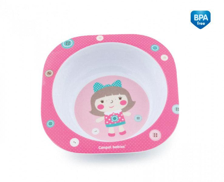 Детская тарелочка  из меламина TOYS Canpol Babies - 4/522