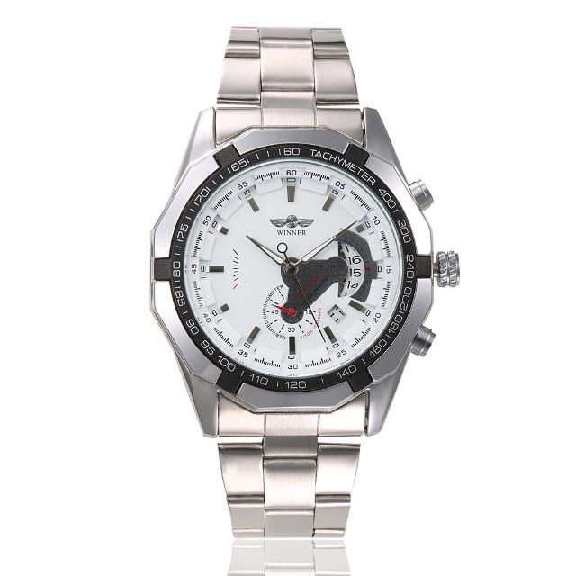 Механические мужские часы WINNER TITANIUM WHITE