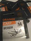 Крючки для рыбалки Orange carp #14, фото 4