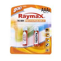 Аккумулятор Raymax R-03 (ААА) 800mAh (2 шт. на блистере)