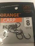 Коропові гачки Orange carp #8, фото 3