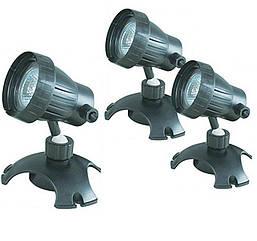 Світильник для ставка AquaFall CQD-220C галоген 3x20 W